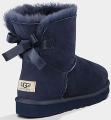 8b17f360ef0 UGG Mini Bailey Bow 1005062 Navy blue | shoes in 2019 | Ugg boots ...