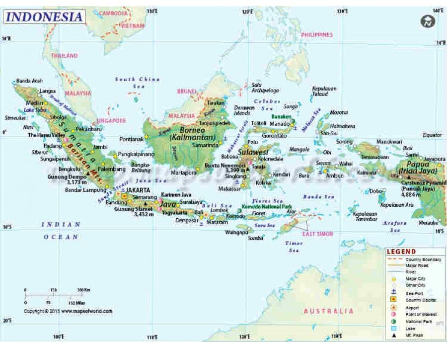 Buy Indonesia Map Online Map, Event calendar, Political map