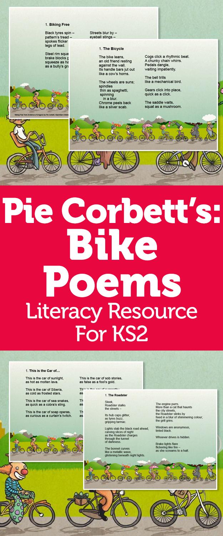 pie corbett poetry ks2 describe bikes cars planes and more with descriptive poems talk for. Black Bedroom Furniture Sets. Home Design Ideas
