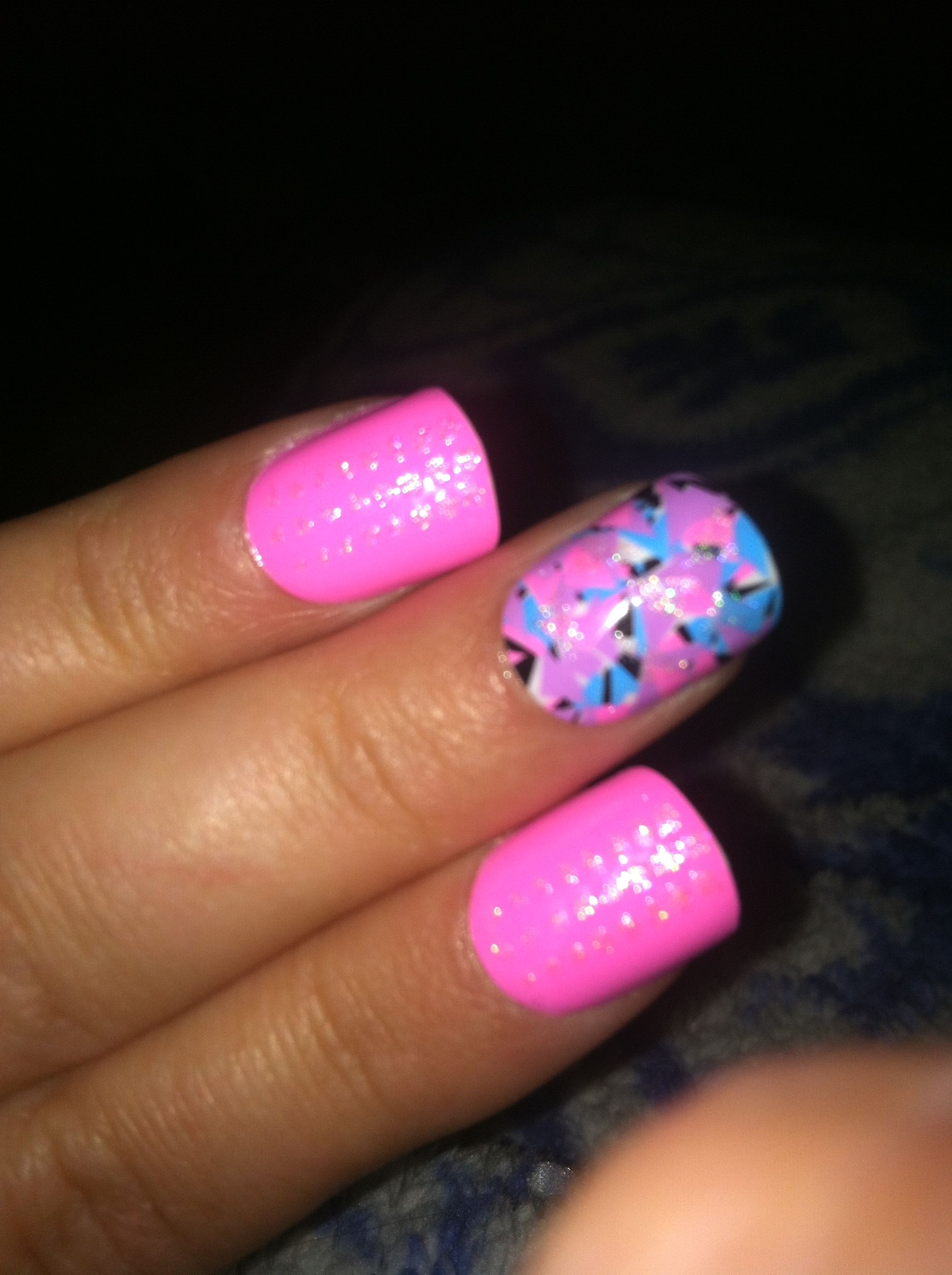 My new nails!!!