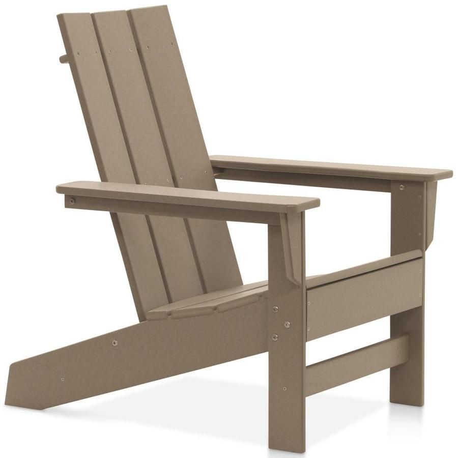Durogreen Durogreen 174 Aria Adirondack Chair Weathered Wood