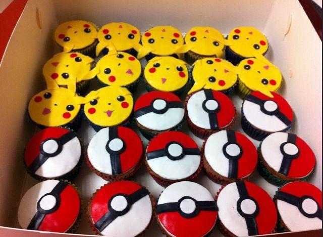 Pokemon Cupcakes Yum With Images Pokemon Cupcakes Pokemon