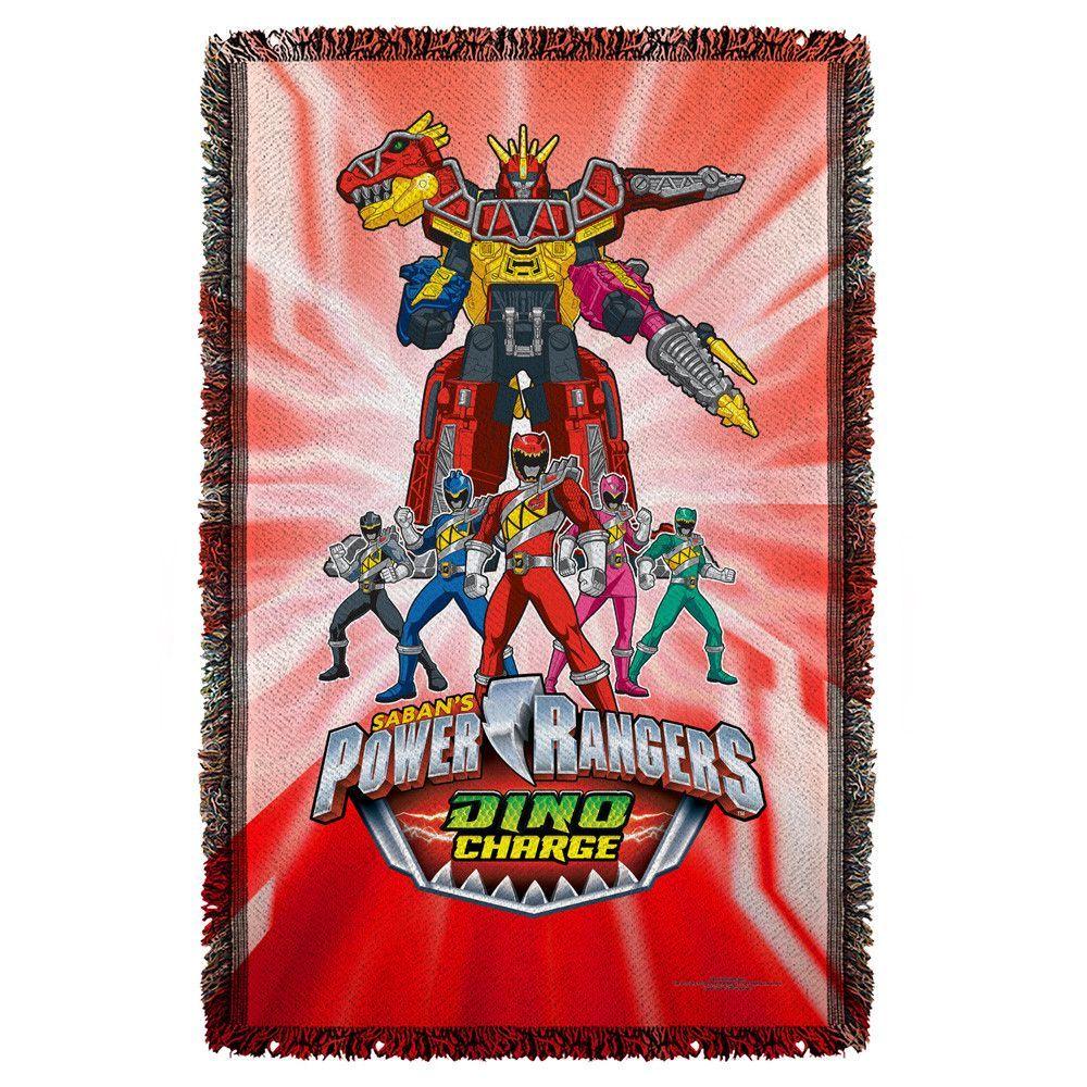 Power Rangers Dino Ranger Woven Throw