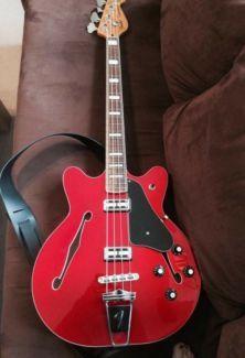 Fender Coronado II RW Candy Apple Red in Nordrhein-Westfalen - Emsdetten | Musikinstrumente und Zubehör gebraucht kaufen | eBay Kleinanzeigen