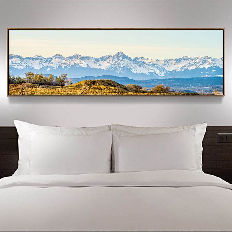 Large Landscape Canvas Wall Art Fantastic Snowy Mountains Land Print On Canvas Giclee Artwork For Wall Decor No Landscape Canvas Wall Canvas Mountain Wall Art