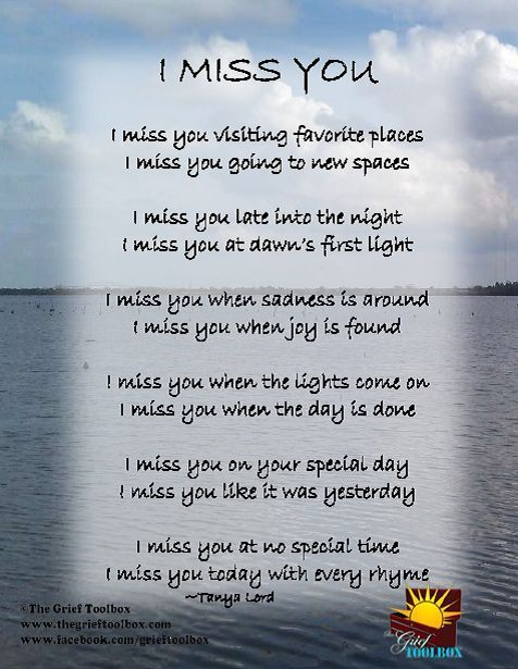 I Miss You Poems Tools For Finding Hope Along The Journey Missing Them