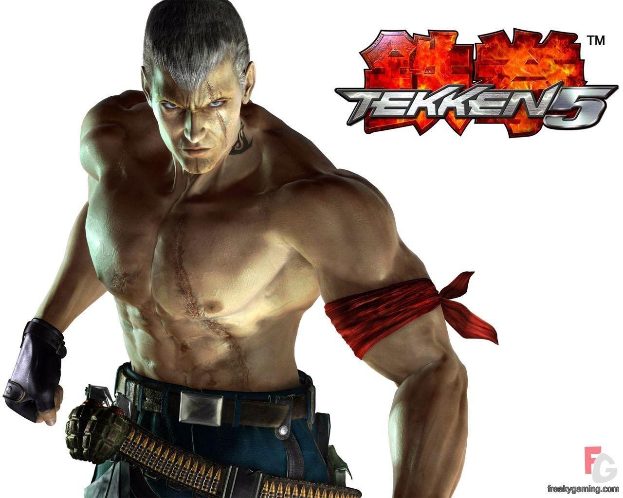 Bryan Fury Tekken 6 Wallpaper By Petra0 On Deviantart Bryan Fury Fury Bryan