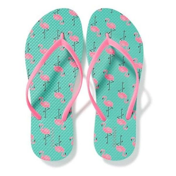 f1903618468737 Old Navy Womens Printed Flip Flops (77 ARS) ❤ liked on Polyvore featuring  shoes