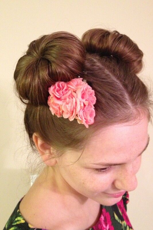 how to make buns with accessories