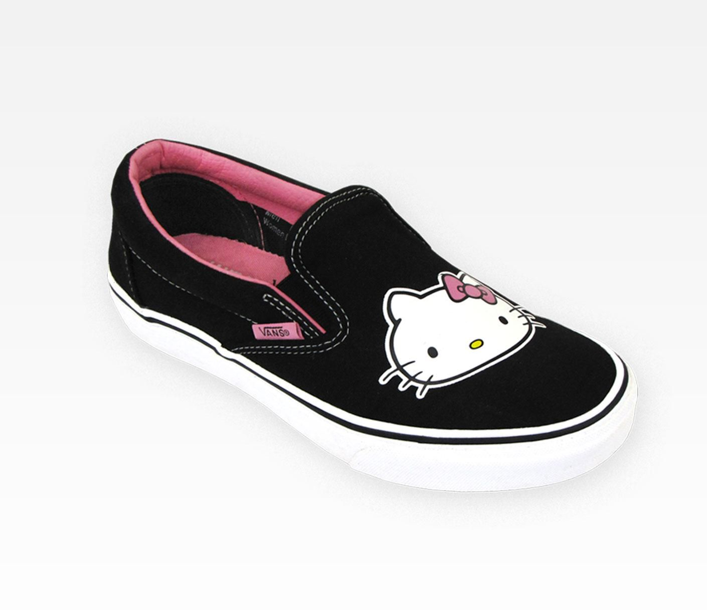 5b5c32f82d Hello Kitty Adult Classic Sneakers  Slip-On