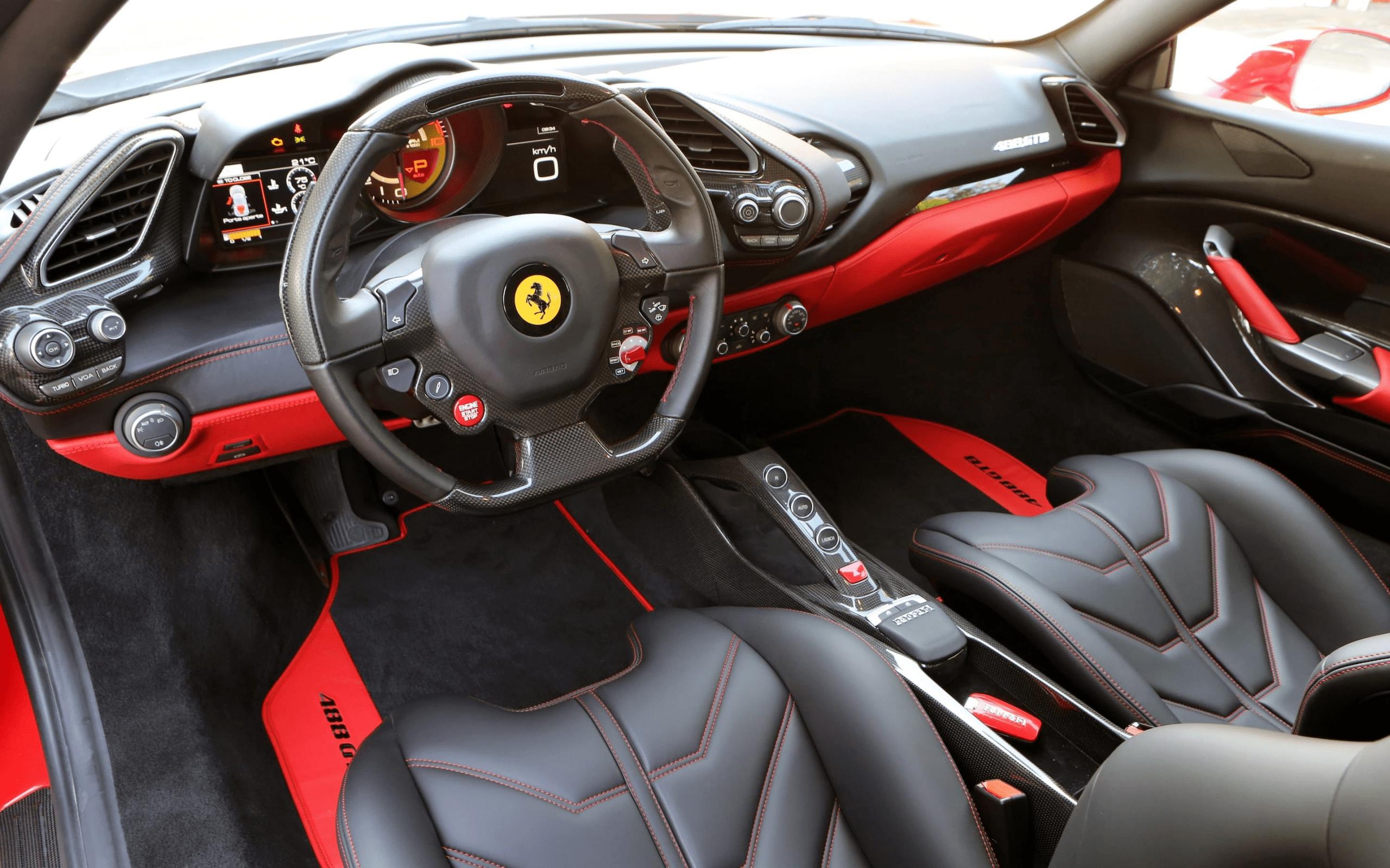 2021 Ferrari 488 Gtb Interior In 2020 Ferrari 488 488 Gtb Ferrari