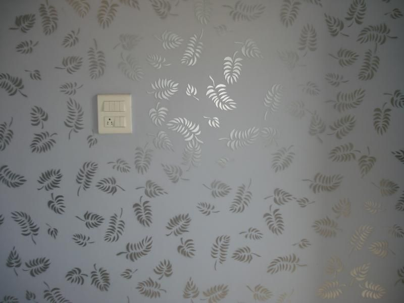 sparkling leaves | paintahome | pinterest | wall texture design