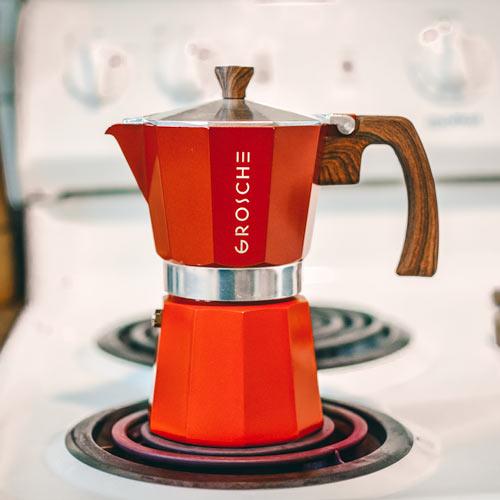 MILANO Stovetop Espresso Maker #espressomaker