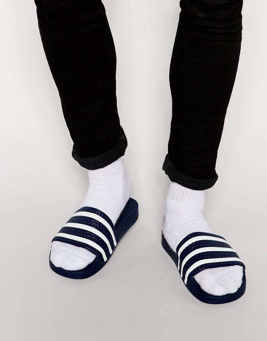 a317c50763fc15 adidas Originals Adilette Sliders 288022. adidas Originals Adilette Sliders  288022 Flip Flop Shop