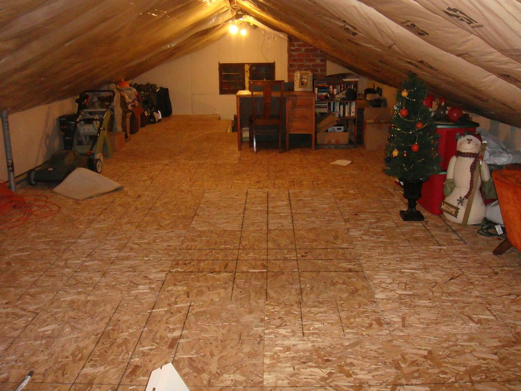 How To Create Extra Storage In Your Attic Space Attic Spaces Attic Storage Garage Attic Storage