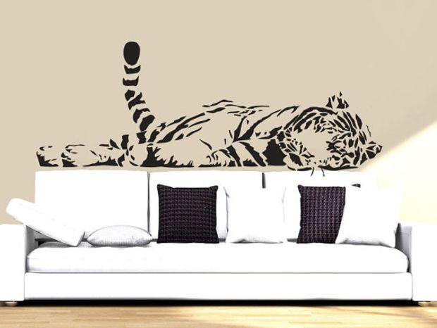 Wall Decal Vinyl Sticker Decals Art Decor Design Tiger Lion