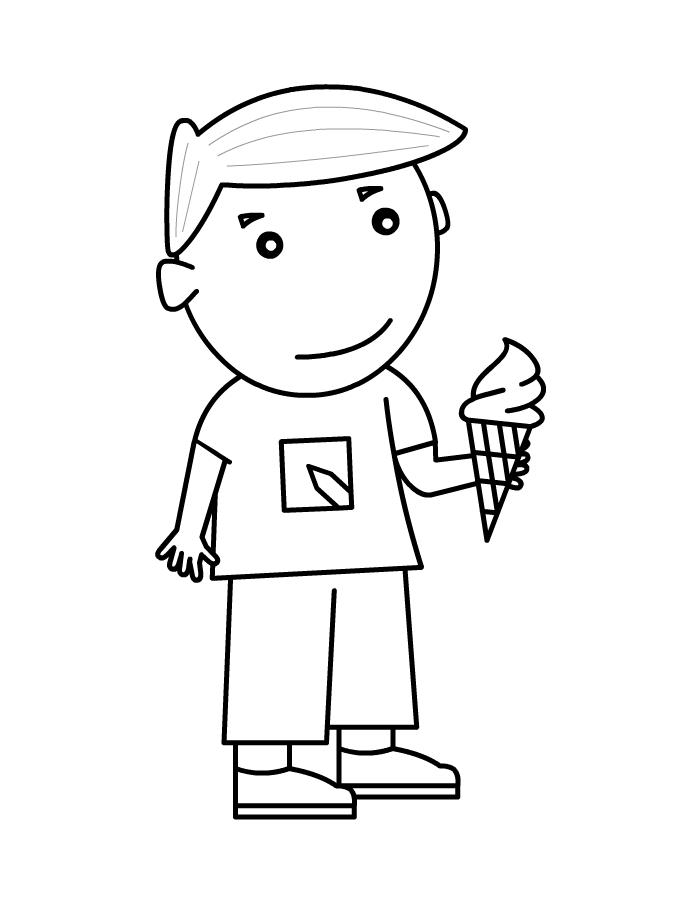 jongen met ijsje jongen ijsje jongens