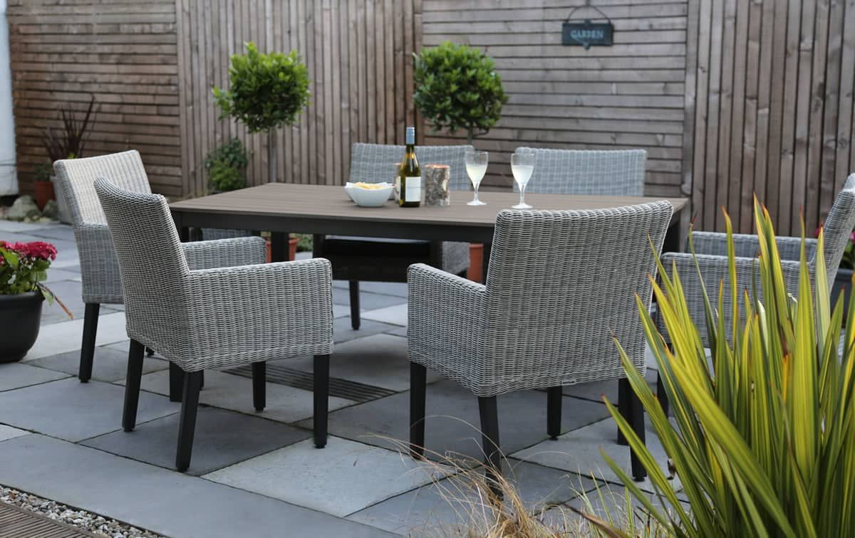 f5cc21c18d03 Kettler Bretagne 8 Seater Set In White Wash - (KBRETSET03) - Garden  Furniture World