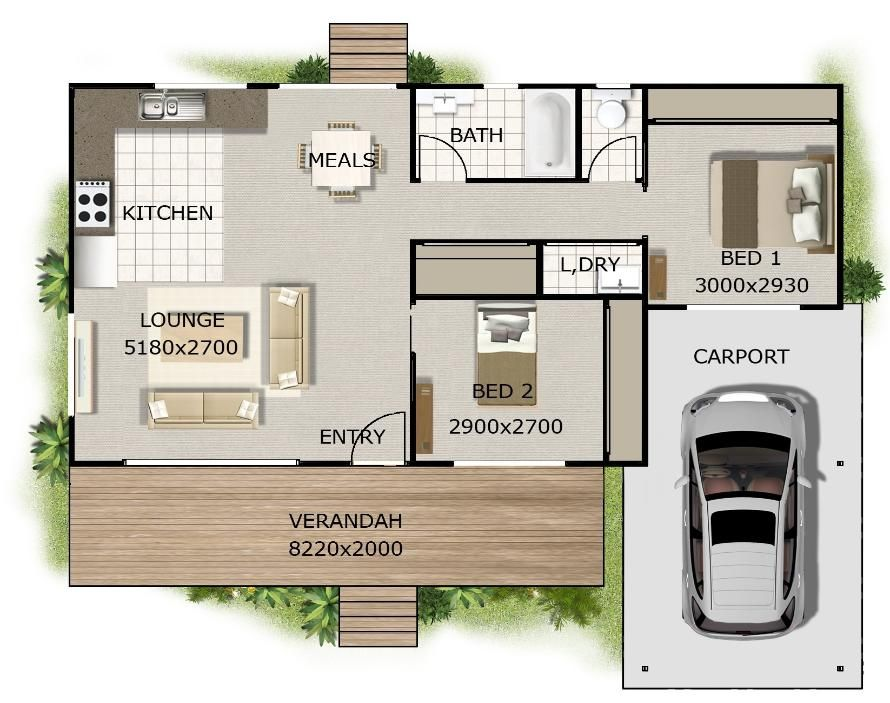 2 bedroom 2 bath cottage plans want this plan includes