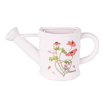 Regadera de cer mica anna multicolor proyecto macetas for Jardineras de ceramica