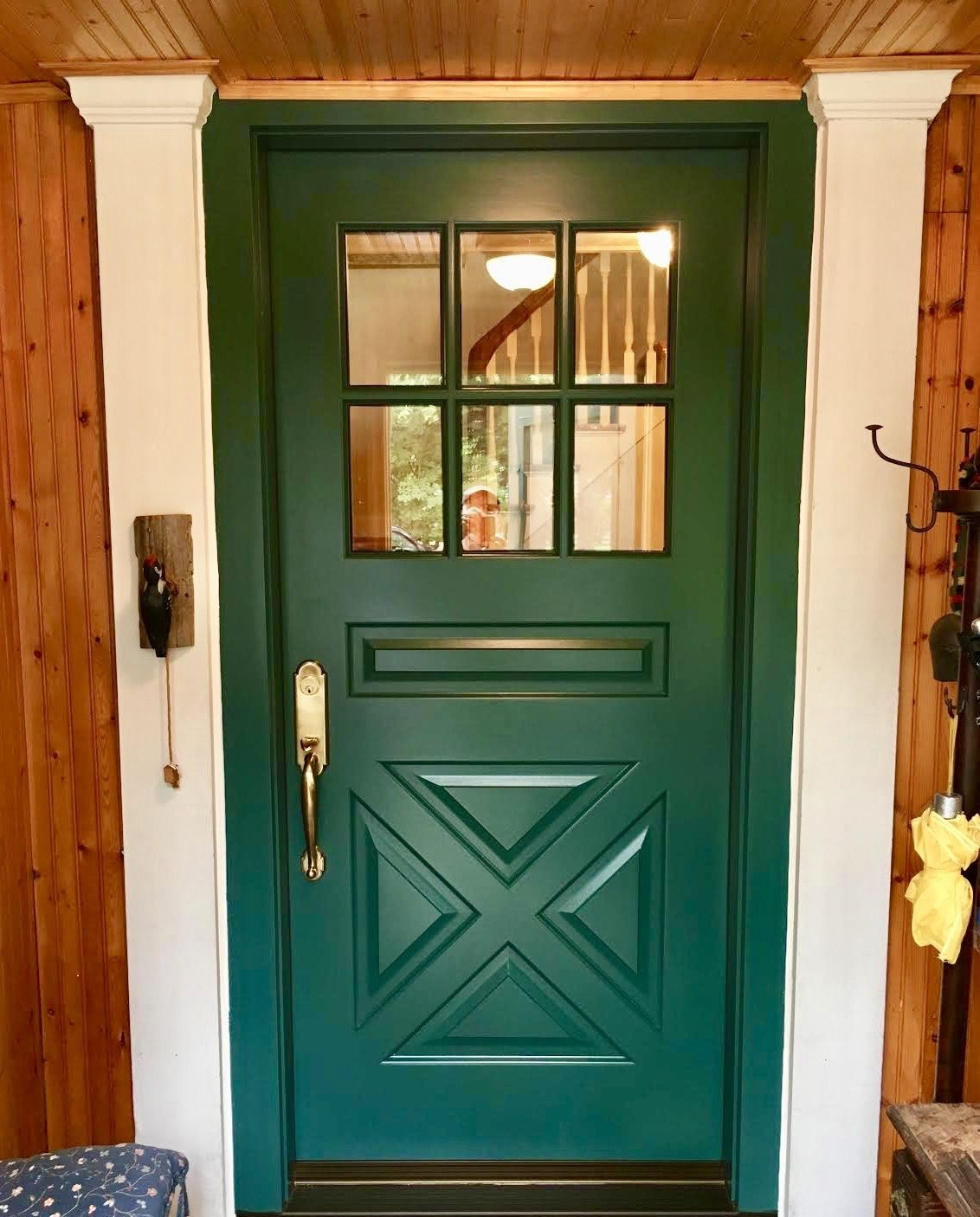 Entry Doors With Clear Gl on