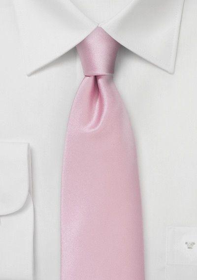 Krawatte Einfarbig Kunstfaser Rose Krawatte