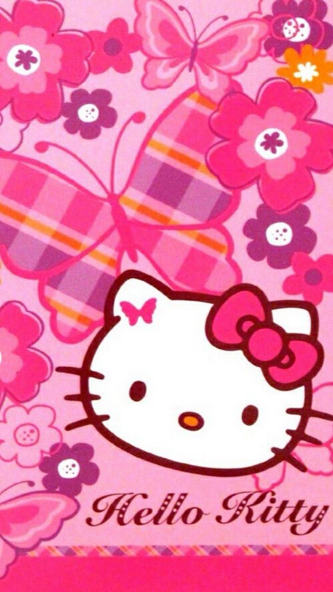 Sanrio Hello Kitty Iphone 7 Plus Wallpaper With Images Hello