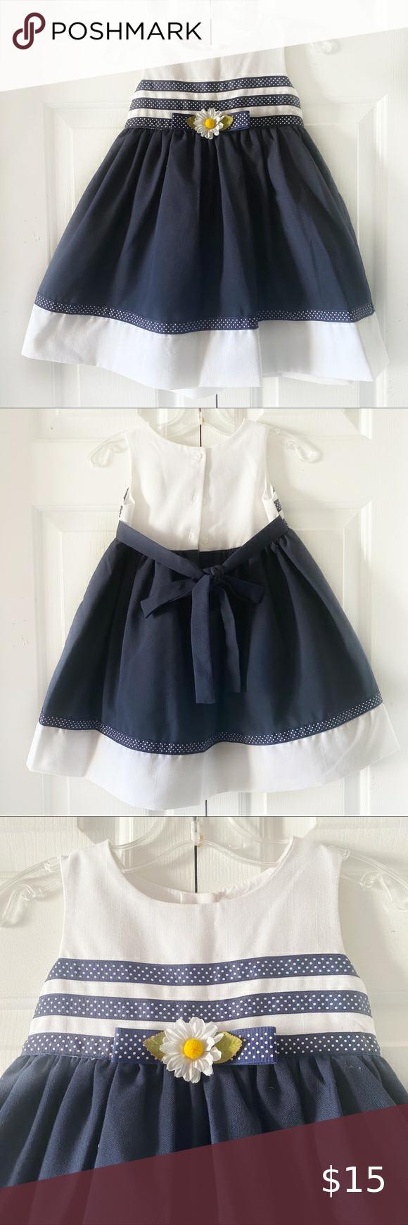 La Princess Blue White Toddler Girls Dress 2t Toddler Girl Dresses White Dress Party Toddler Christmas Dress [ 1740 x 580 Pixel ]