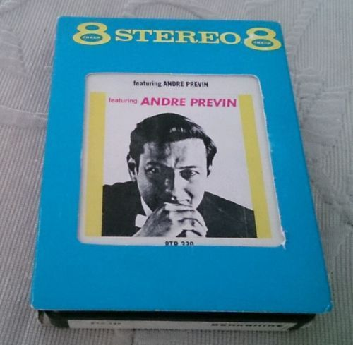 Featuring Andre Previn Berkshire 8TB 339 Stereo 8 Track Tape Cassette Jazz
