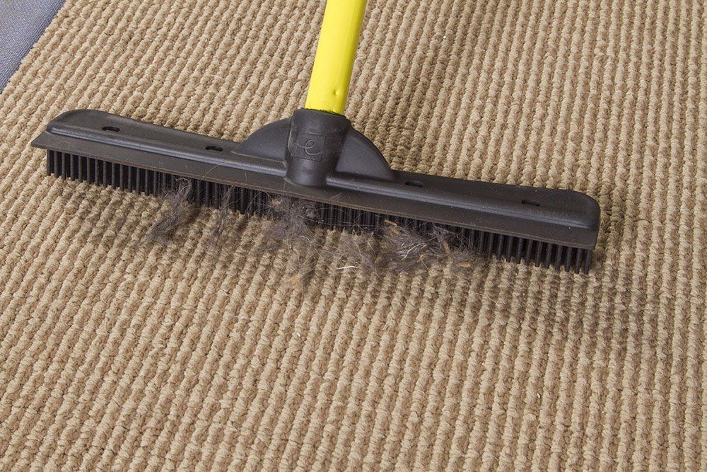FURemover Broom with Squeegee made from