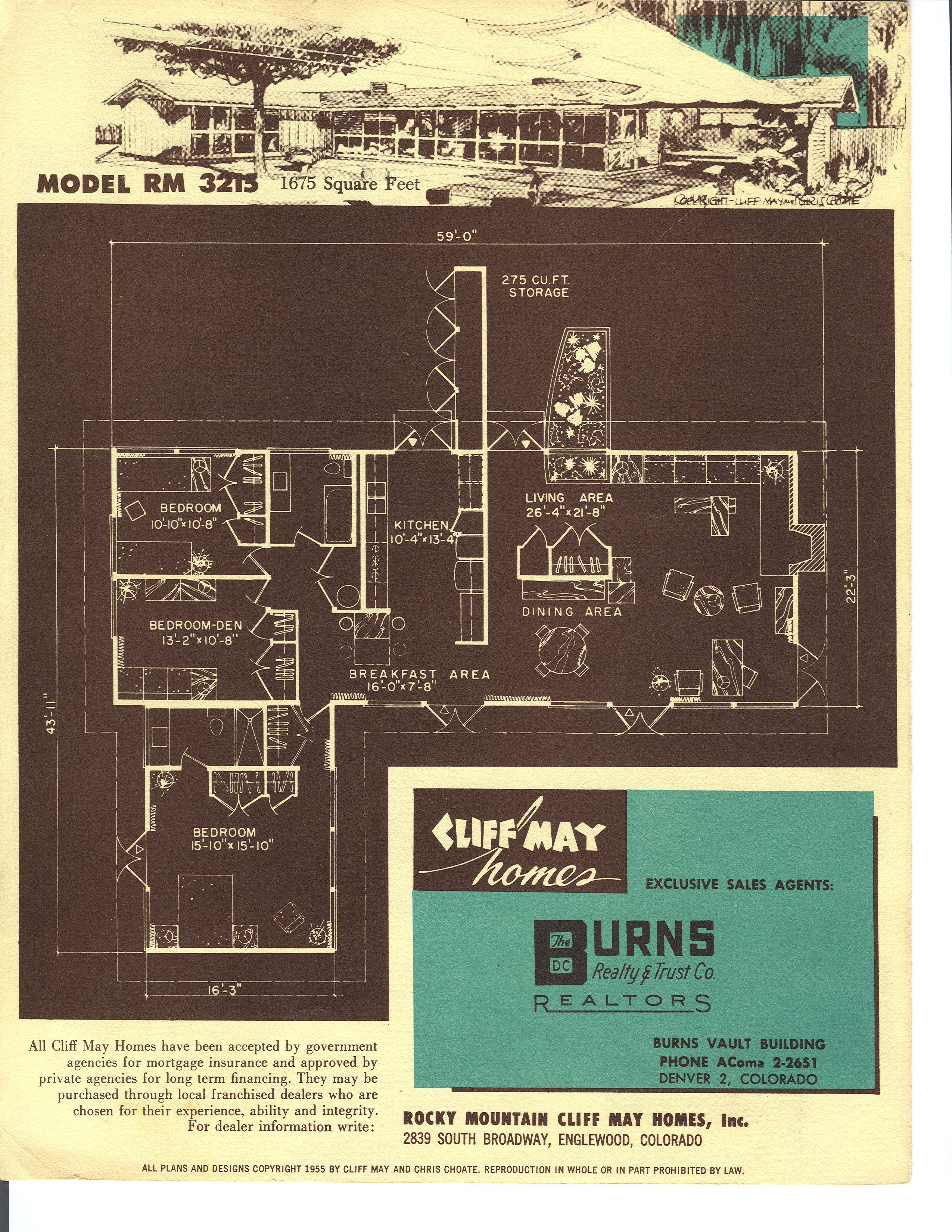 What S A Typical House Size Today Houseplans Blog Houseplans Com Vintage House Plans House Plans Cliff May