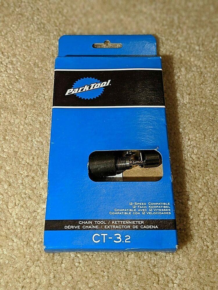 Park Tool CT-3.2 Bike Chain Breaker Screw Type Single 5,6,7,8,9,10,11,12-Speed