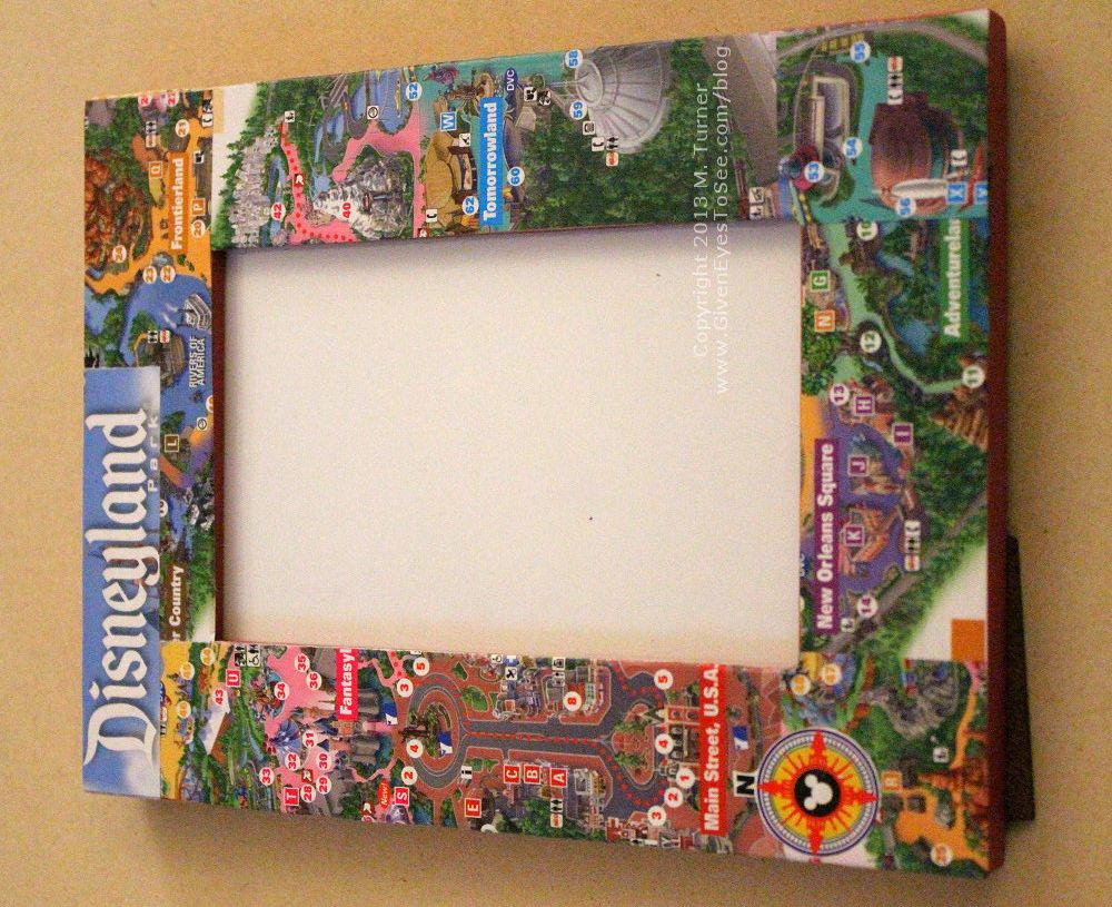 Whoa i can use all of those old maps up bat mitzvah disney disneyland map frame and souvenir box gumiabroncs Images