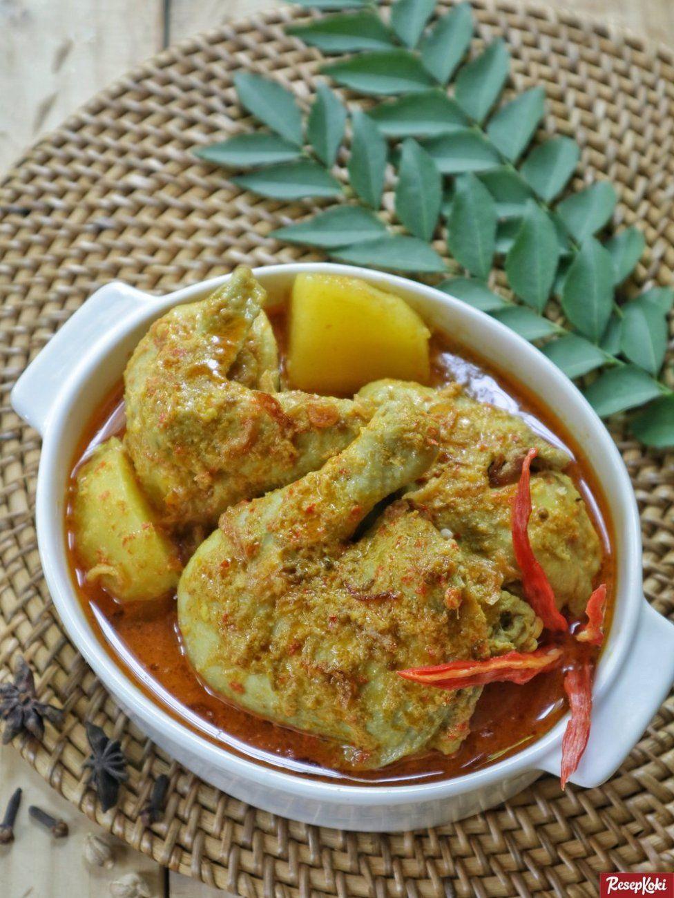 Kari Ayam Lezat Dan Sederhana Resep Resepkoki Resep Di 2020 Resep Masakan Resep Kari Ayam
