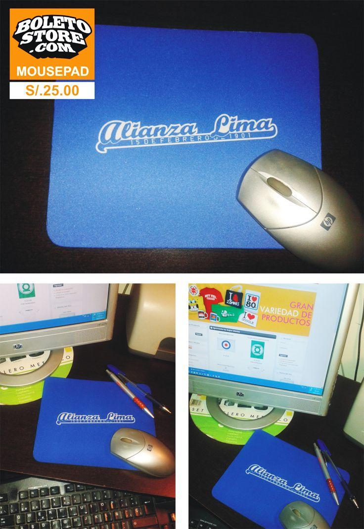 MousePad Decorativo para lucir en tu Trabajo o Centro de Estudio  PEDIDOS: ventas@boletostore.com