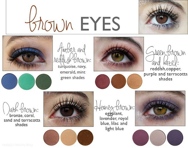 Colours That Emphasize Your Eyes Makeup Color Wheel Eyeshadow