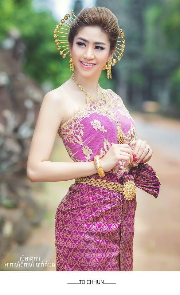 khmer wedding costume | South Korea | Pinterest