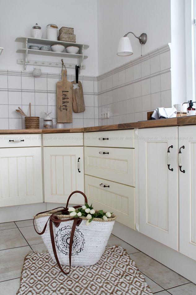 Deko-Donnerstag Vorher Nachher Renovierung Küche - küchenschrank griffe günstig
