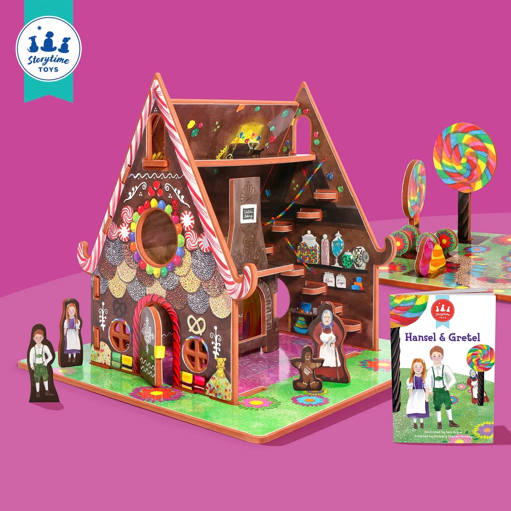 Hansel and Gretel Old fashioned toys