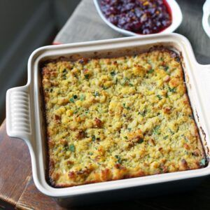 Mom's Traditional Southern Cornbread Dressing -   18 cornbread dressing southern stuffing recipes ideas