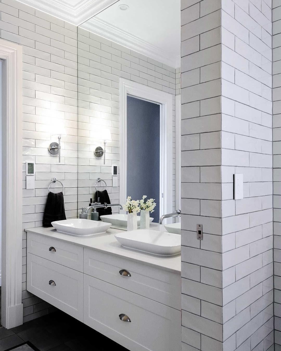 Hampton Style Bathroom Anyone Hamptonsstyle Bathrooms Bathroomtiling Bathroomvanitiesandbasins