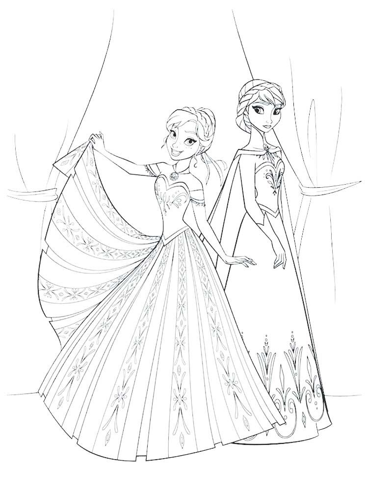 Frozen 2 Coloring Pages - GetColoringPages.com | 1000x750