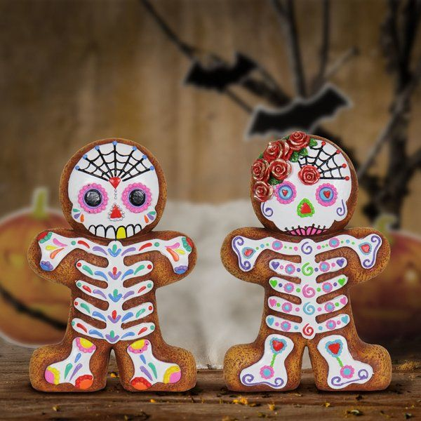 You Ll Love The 2 Piece Sugar Skull Gingerbread Boy And