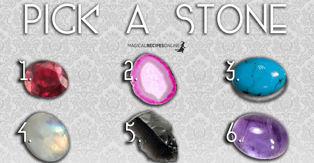 Aura Test: Let your intuition pick a magic stone and see