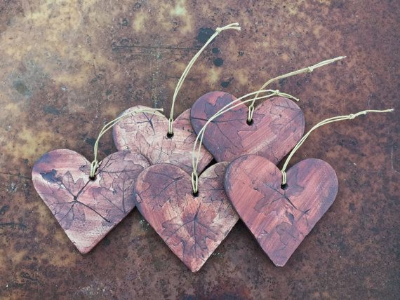 To Love: Heart Ornament or Tree Hanging by spinninglovepottery