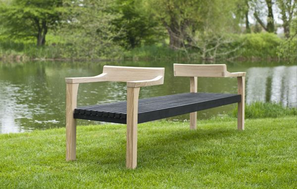 We Re Out In The Garden Urban Furniture Bench Contemporary Bench Bench Furniture
