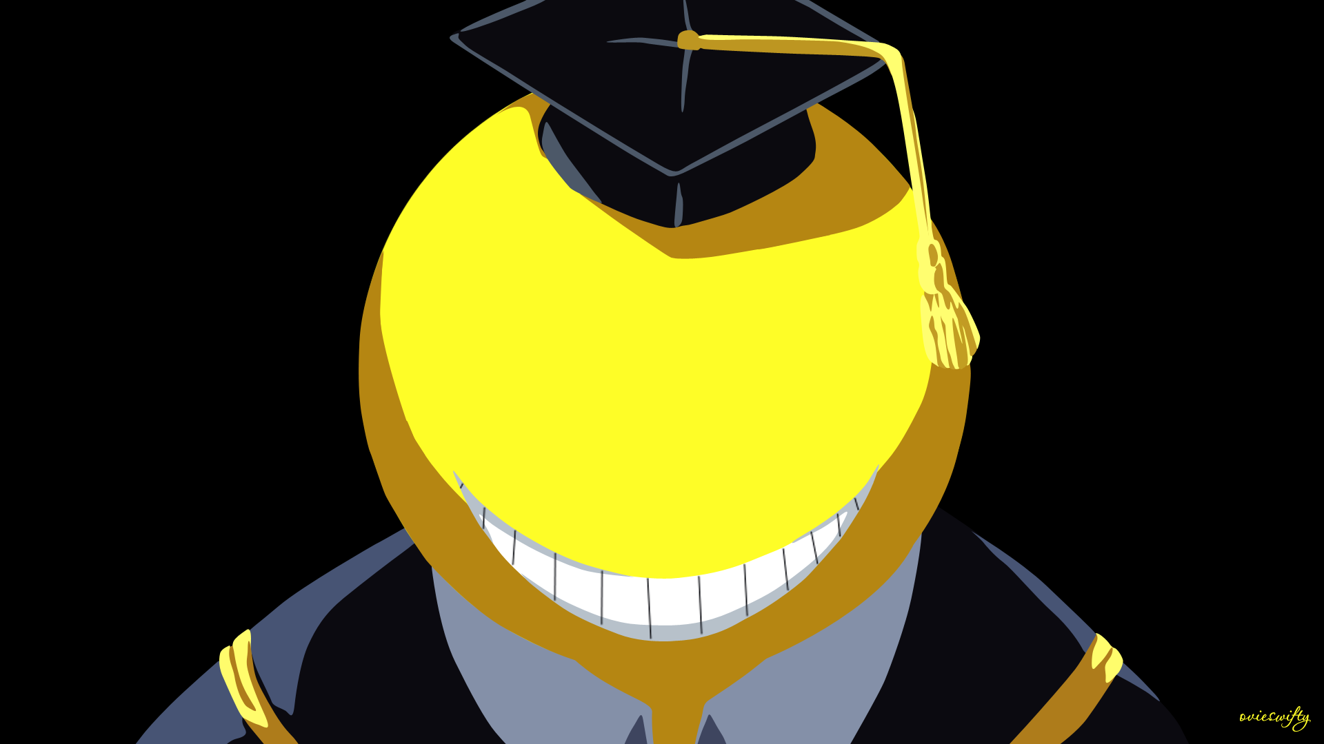 Koro Sensei Normal Assassination Classroom By Ovieswifty On Deviantart Assassination Classroom Koro Sensei Face Anime Book