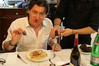 Owner Cinti Giaphiero of Trattoria La Palomba, Orvieto. http://www.ontariotable.com/italys-best-cuisine-in-orvieto/
