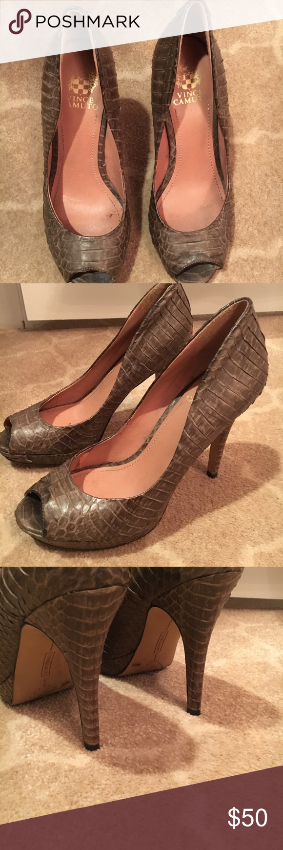 Vince Camuto heels Worn a few times but in good shape