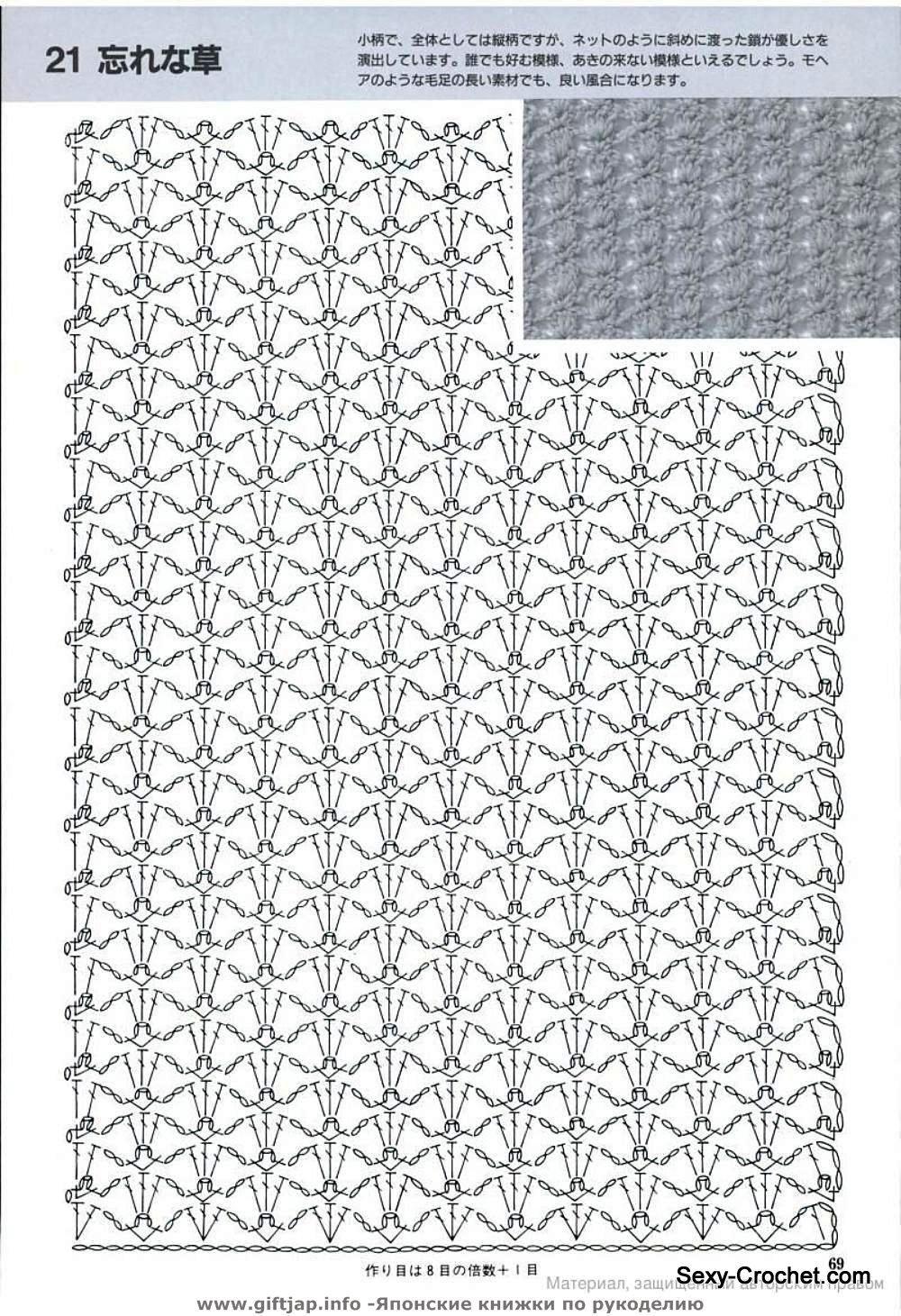 lacy crochet stitch | CROCHET: points | Pinterest | Esquemas, Falda ...